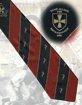 Dame Allan's Schools, Newcastle, Rugby Tour of South Africa 2001 - 9cm - TIE
