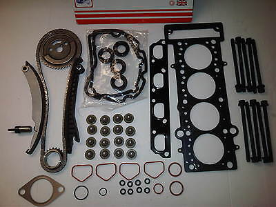 Bmw Mini One R50 R52 R53 1.6 Timing Chain Kit + Head Gasket Set & Head Bolts