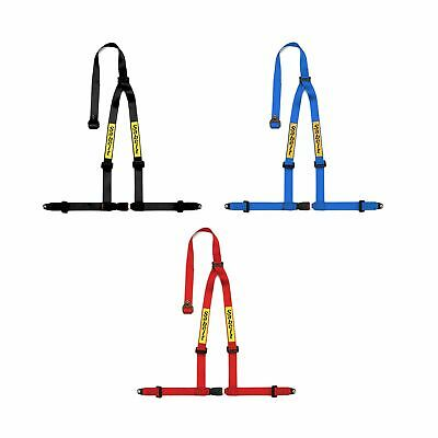 """Sabelt 3 Point Fixed Catch Bolt In Motorsport Clubman 2"""" Harness - Red"""