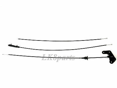 Land Rover Range 03-09 Hood Control Cable Kit Fse000030 Fse000041 Fpf500050 New