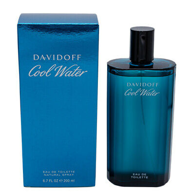 Cool Water by Davidoff Cologne for Men 6.7 / 6.8 oz Brand New In Box