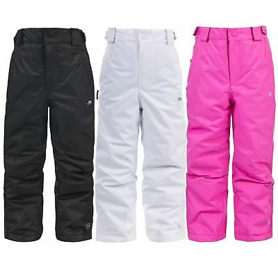 Trespass Nomi Kids Waterproof Ski Snowboard Trousers Boys Girls Warm Pants