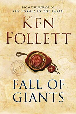 Fall of Giants (The Century Trilogy) by Follett, Ken Hardback Book The Cheap
