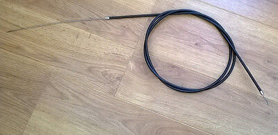 Black Throttle Cable . Extra Long. 77 Brand New