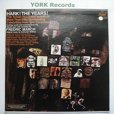 HARK! THE YEARS! - Various A RECORDED SCRAPBOOK OF SOUND - Ex LP Record Capitol