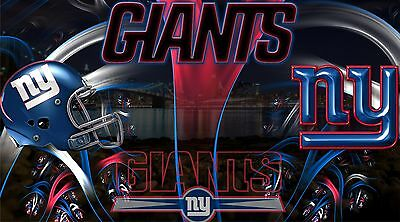 New York Giants Poster Fine Art Repro Canvas or Photo Stock