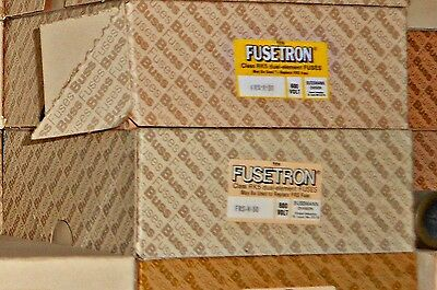 FUSETRON FRS-R-50 600 Volt Lot of 4 SHIPS FAST! Wow! BUSSMANN Fuses NEW