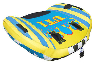 SKI TUBE 1 Person ✱ UT-1 ✱ WINGS Top Quality Ski Biscuit 58 Inch (147cm) 1 Rider