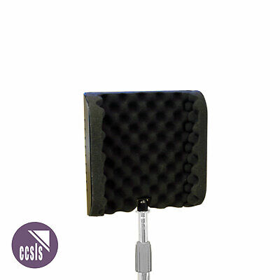 BRAVO SI06 200mm SOUND REFLECTION SCREEN WITH GOOSENECK AND CLAMP FOR MIC. STAND