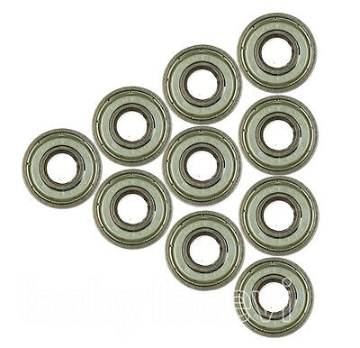 10 Balls Bearing 608Z 8mm/22mm/7 for Skateboards scooter Rollerblade babyfacevi#