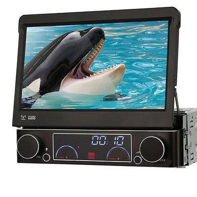 1 Din Autoradio Mit GPS Navi Navigation Touchscreen Bluetooth USB SD CD RDS TV