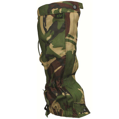 Highlander Military Walking Gaiters Waterproof Hiking Trekking British Dpm Camo