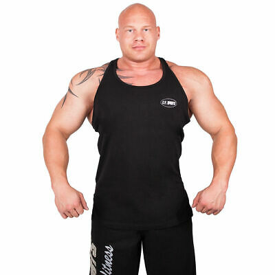 Muscle Shirt Träger Shirt Stringer Tank-Top Muskelshirt Trainings-Shirt Fitness