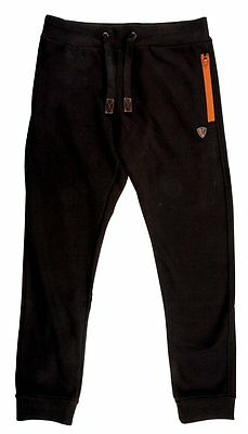 Brand New 2017 Fox Fishing Black & Orange Joggers Jogging Bottoms - All Sizes