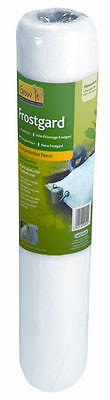 Gardman Frostgard Fleece Plant Frost Protection Fabric Roll  8m x 1.5m