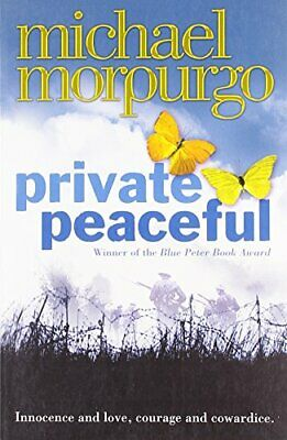 Private Peaceful by Morpurgo, Michael Paperback Book The Cheap Fast Free Post