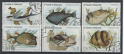 S. Tome fish Stamps