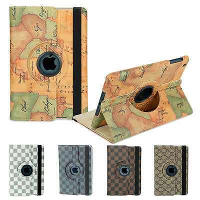 Luxury Smart Case Cover Skin for Apple iPad 4 3 2 iPad mini 3 iPad Air 2 1