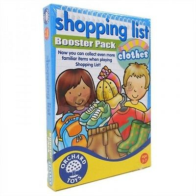 Orchard Toys Shopping List Booster ~ CLOTHES ~ Extentionion Pack Educational