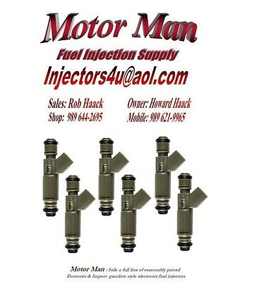 OEM Fuel Injectors Set for Ford 6 YF1E-A2C Rebuilt by Master ASE Mechanic USA