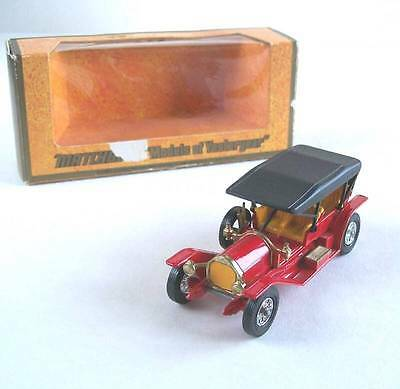 Matchbox Yesteryear Moy Y-9 1912 Simplex, 1974 Issue Box, Vnmib