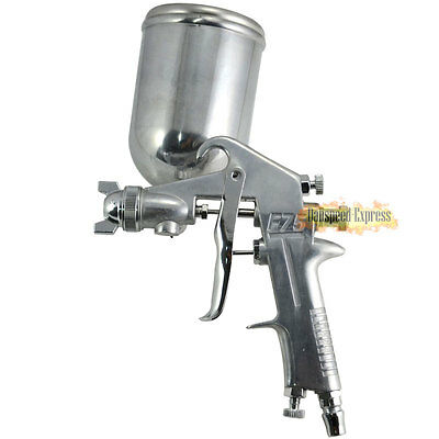1.5mm Gravity Feed Air Spray Gun Kit Auto Home Primer Painting Tools + 400mm Cup