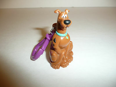 Scooby Doo Keychain / Backpack Clip - Bag Clip - 2002 Warner Brothers Dog