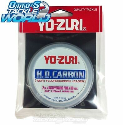 Yo-Zuri H.D. Carbon Fluorocarbon Leader BRAND NEW at Otto's Tackle World
