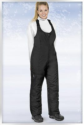 Women's Choko Flair Slim Fitted Snowmobile Bibs Black S M L XL  80PN000