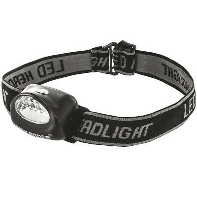 Highlander Fornax 5 Led Camping Head Flash Light Water Resistant Headtorch Black