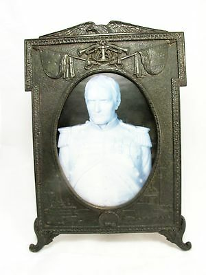 Us Navy Cast Iron Photo Frame C1900