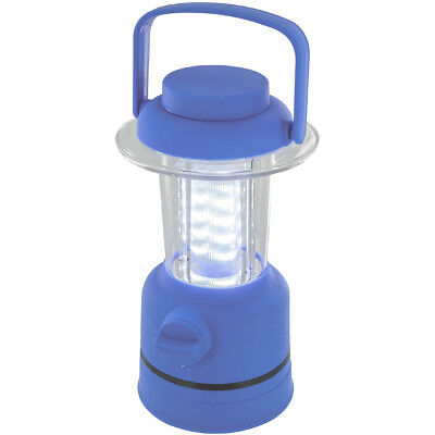Highlander Halo 12 Led Portable Lantern Camping Fishing Dimmable Tent Light Blue