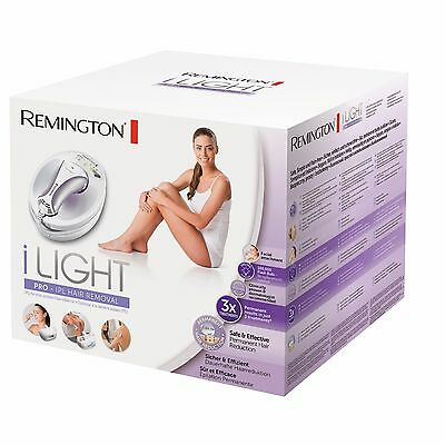 Remington iLIGHT Pro Plus Quartz Hair Removal System 100,000 Shots LONGLIFE USE