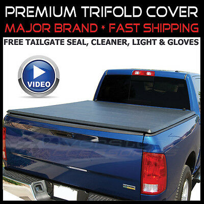 2009-2014 Ford F-150 5.5ft Short Bed NEW TRI-FOLDING TONNO TONNEAU TRIFOLD COVER