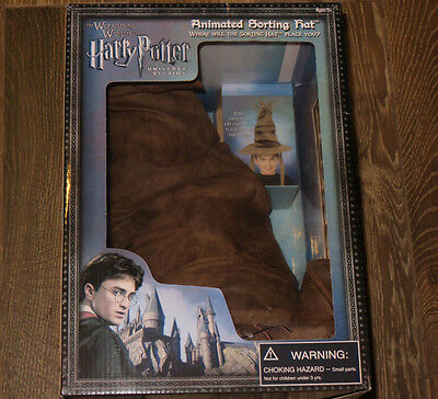 Universal Studio Wizarding World of Harry Potter  Talking Animated Sorting Hat