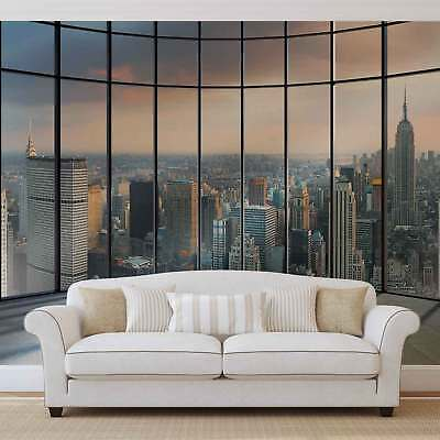 WALL MURAL PHOTO WALLPAPER PICTURE (1510P) New York Urban City Skyline