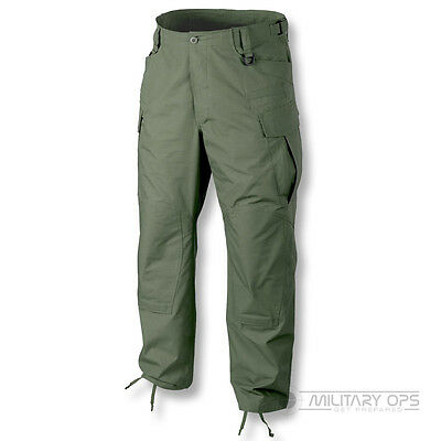 Helikon Sfu Next Trousers Special Forces Sas Cargo Mens Combat Pants Olive Green