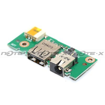 For ASUS X401A X401A X501A X301A X301 X401 DC-In Power USB Jack Board Components