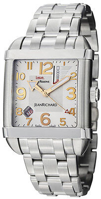 JeanRichard Paramount Linear Power Reserve Watch 62118-11-11a-11a List $9,900