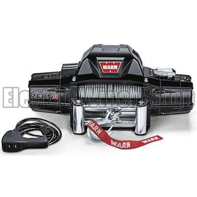 Warn Zeon 8 12v Electric Winch with Steel Rope