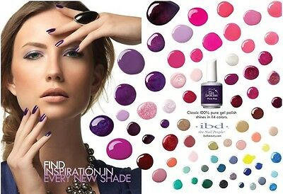 ibd Just Gel Polish - UV/LED Esmalte Semipermanentes - (Colores A-G) - 14ml