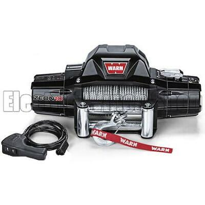 Warn Zeon 10 12v Electric Winch with Steel Rope