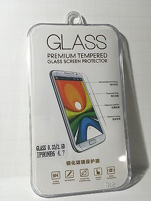 Combo x2 Premium Tempered Glass Screen Protector for Apple iPhone 6 4.7inch