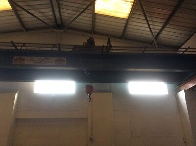 Overhead Crane Heavy Duty 5ton Lift 12m Span With 32m Of Track