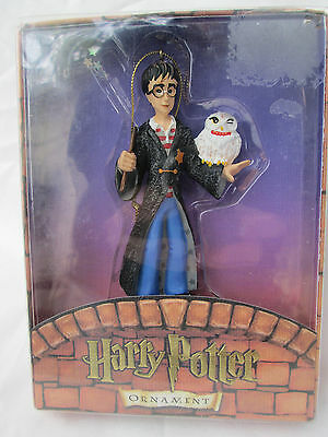Kurt S Adler HARRY POTTER & HEDWIG Ornament 2000 *New in Package!*