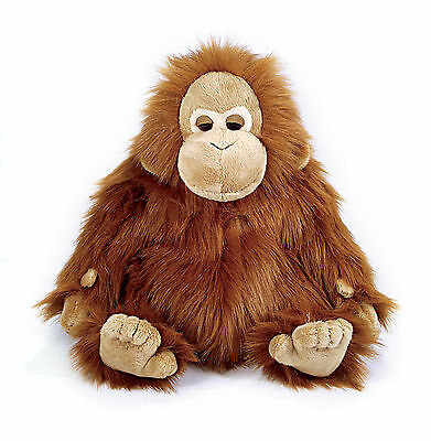 New large luxury orangutan monkey orang cuddly soft safari animal toy plush