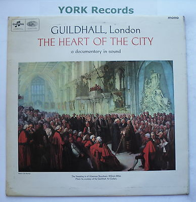 GUILDHALL, LONDON - The Heart Of The City - Documentary - Ex LP Record SX 6032