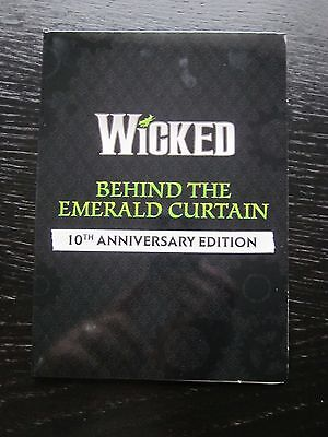 Wicked - Behind The Emerald Curtain -10th Anniversary Edition - Promo DVD