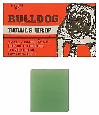 BOWLS Grip Aid Bull Dog Bowls Grip All Round Purpose Sports Grip Two Blocks 5g