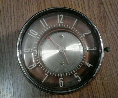 VINTAGE JAEGER WATCH CO AUTOMOTIVE DASHBOARD CLOCK